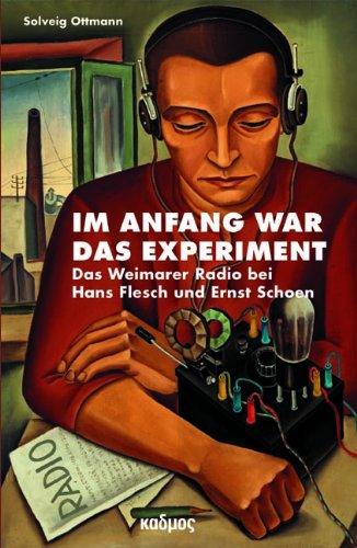 Cover Im Anfang war das Experiment